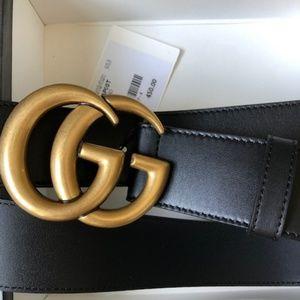 •Authentic Gucci GG Belt•